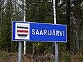 Saarijärvi municipal border sign 20181113.jpg