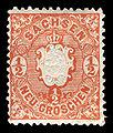 Sachsen 1863 15 Staatswappen.jpg