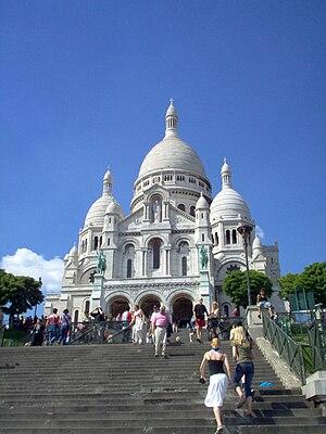 Basilique du Sacré-Cœur, Paris.