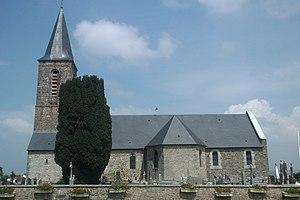 L'église Saint-Romphaire.