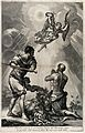 Saint Christopher. Engraving by A. Zucchi after G.B. Tiepolo Wellcome V0033604.jpg