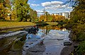 Saint Petersburg. Autumn view to the Smolenka River from Smolensk Orthodox Cemetery.jpg