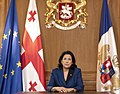 Salome Zourabichvili Addressing Nation on 9 April 2020.jpg