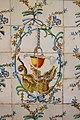Salpasser i drac al sòcol ceràmic de l'església de santa Úrsula, València.JPG
