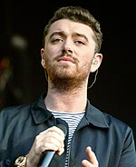 Photo of Sam Smith in 2015.