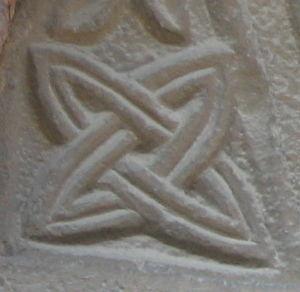 Solomon's knot - Solomon's knot carving in Almenno San Bartolomeo (Italy)