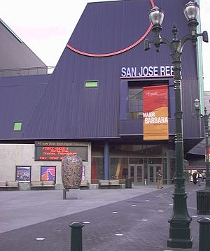 San Jose Repertory Theatre - Former home of San Jose Repertory
