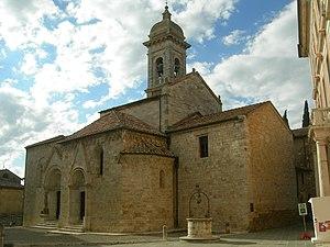 Cyricus and Julitta - The Collegiata dei Santi Quirico e Giulitta, San Quirico d'Orcia