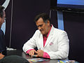 San Diego Comic-Con 2011 - Bruce Campbell signs for fans (Dark Horse booth) (5977352732).jpg