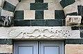 San michele di murato, facciata, con rilievi del 1140 ca. 09.jpg