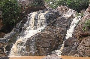 Kendujhar district - Sanaghagara Waterfall in the Rainy Season, Kendujhar