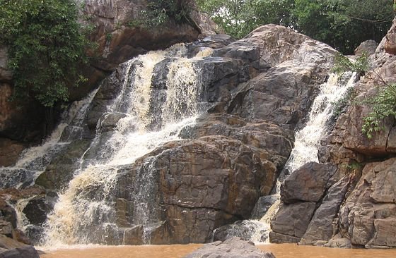 Sanaghagara falls in Kendujhar district, Odisha - Eastern Ghats