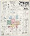 Sanborn Fire Insurance Map from Hastings, Adams County, Nebraska. LOC sanborn05196 003-1.jpg