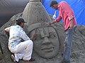 Sand sculpture on film set (942711483).jpg