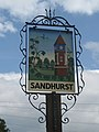 Sandhurst village sign - geograph.org.uk - 322703.jpg