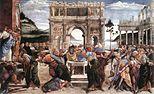 Sandro Botticelli - Castigo de Coré, Datán y Abirám (Capilla Sixtina, Roma, 1481-82).jpg
