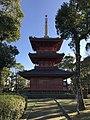 Sanjunoto Tower of Buzen-Kokubunji Temple 7.jpg