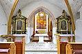 Sankt Georgen a L Launsdorf Pfarrkirche Mariae Himmelfahrt Triumphbogen mit Seitenaltaeren 12032013 119.jpg