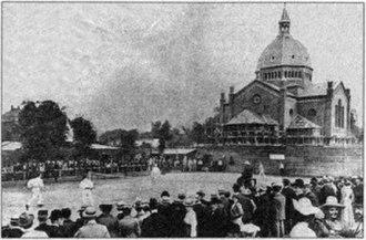 St. Mark's Church, Copenhagen - Photo from the opening in 1902