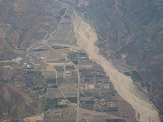 Santa Clara River (California) - Image: Santa Clara River