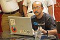 Santanu Chandra - Presentation Session - Wikilearnopedia - Oxford Bookstore - Kolkata 2015-08-23 3670.JPG