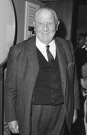 Santiago Bernabéu Yeste - Santiago Bernabeu in 1971