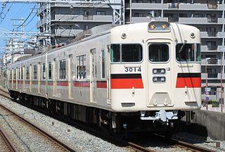 Sanyo 3000 series Japanese train type
