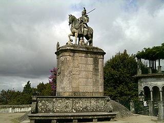 Saint Longinus statue in Bom Jesus