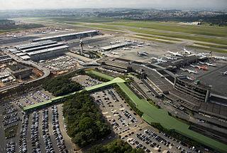 international airport serving São Paulo, Brazil