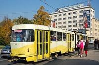 Sarajevo Tram-207 Line-3 2011-10-31 (2).jpg