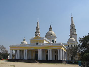 English: The basilica of our Lady of Graces, b...
