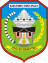 Official seal of Sarolangun Regency