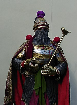 Spahbed - Modern reconstruction of a late Sasanian-era military commander