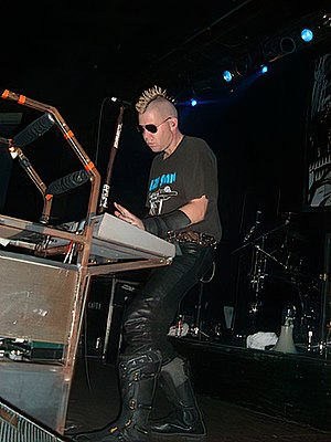 Rivethead - Sascha Konietzko, one of the most influential persons in the rivethead music scene since the 1990s.