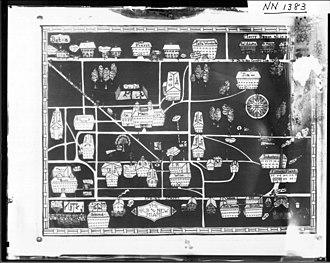 Miami University - Satirical map of Miami University campus