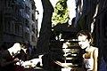 Saturation d'une fin de journée au festival d'Avignon.jpg