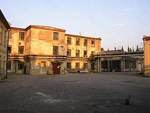 Továrna Oskara Schindlera v Brněnci, stav v létě 2004.