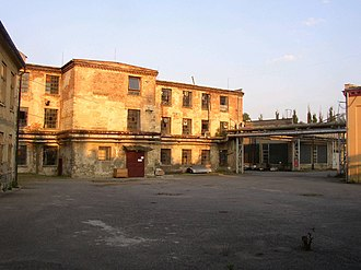 Oskar Schindler - Schindler's factory at the former site of Brünnlitz labor camp in 2004