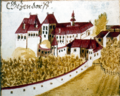 Schloss Götzendorf 1661 Hager.png