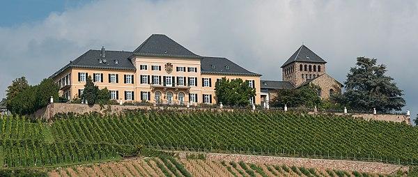 Schloss Johannisberg as seen from south