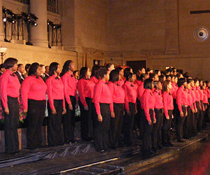 Western High School (Baltimore) - Western High School Choir