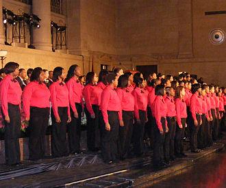 Western High School (Baltimore) - Western High School Choir