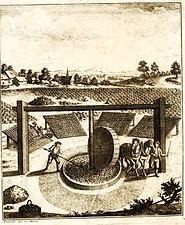 Schreber woad mill 1752