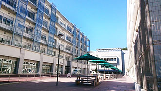Yokohama City University - Science Research Building in Kanazawa-hakkei Campus