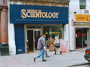 One of the London offices of Scientology at 68...
