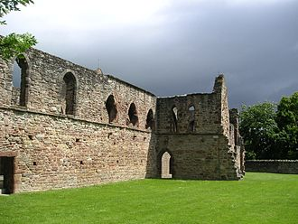 Beauly - Beauly Priory.