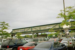 Scott Road station - Image: Scott Road Station outside
