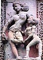 Sculpture on Rajarani Temple 04.jpg