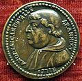 Scuola romana, medaglia di andrea della valle, cardinale.JPG