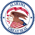 Seal of Alabama (1868–1939).svg